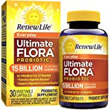 Renew Life - Ultimate Flora Probiotic Everyday - 15 billion - daily digestive and immune health supplement - 30 vegetable capsules