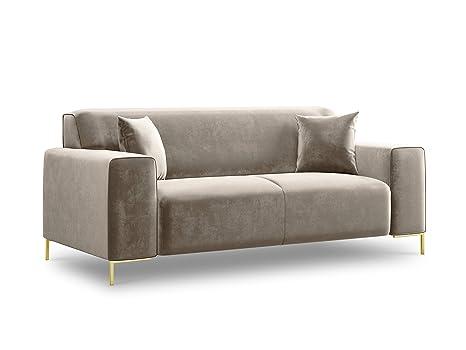 Cosmopolitan Design - Sofá de Terciopelo, Moderno, 2 plazas ...