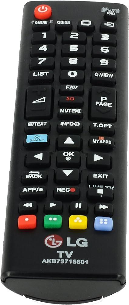 Generic AKB73715601 mando a distancia para televisor LG 32LN575S ...