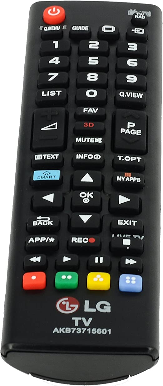 Generic AKB73715601 mando a distancia para televisor LG 32LN575S 32LN570R 39LN575S 42LN570S 42LN575S: Amazon.es: Electrónica