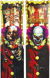 Creepy Carnival Lenticular Sign | Halloween Decor