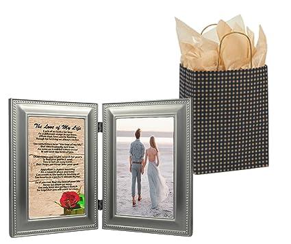 Wmg Romantic Gift Love My Life Sentimental Soulmate Poem Pewter 4x6