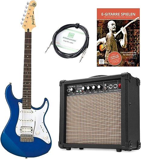 Yamaha Pacifica 012 DBM - Guitarra eléctrica (incluye amplificador ...