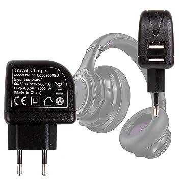 Cargadores Sector para Plantronics Backbeat Pro auricular inalámbrico Bluetooth