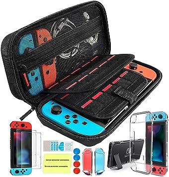 Th-some Kit de Accesorios 14 en 1 para Nintendo Switch, Funda ...