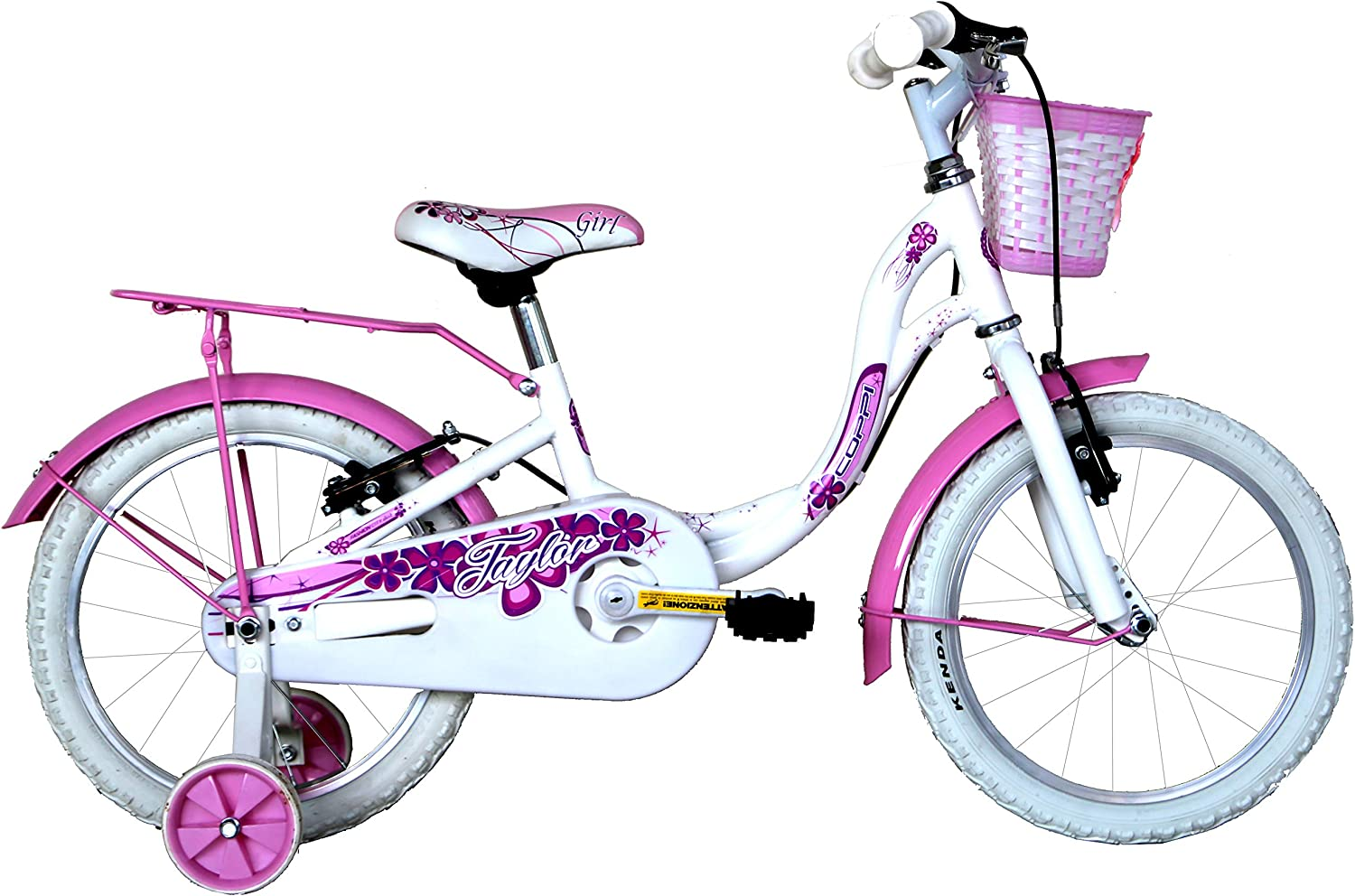 Coppi ctb 16 Bimba, City Bike Niña, Blanco, S: Amazon.es: Deportes y aire libre