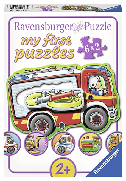 Buy Ravensburger My Favourite Jobs Jigsaw Puzzle (6 x 2