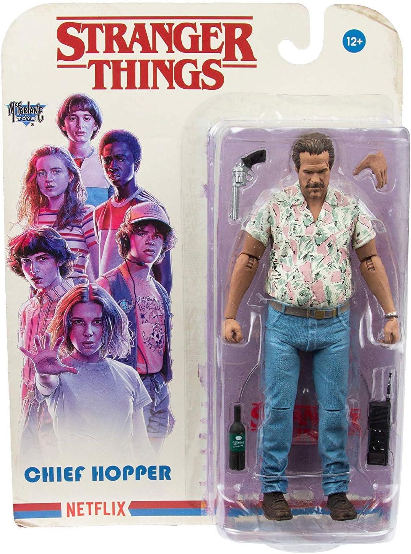 Heo Articulada Stranger Things Figura Chief Hopper, Multicolor (McFarlane MCF10560-5): Amazon.es: Juguetes y juegos