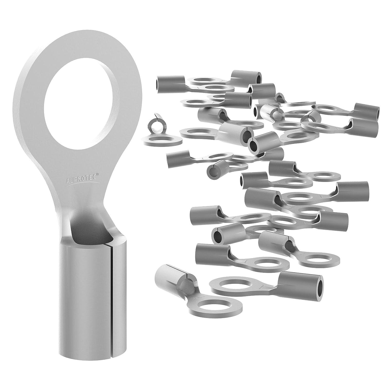 10x Kabel Stoßverbinder 10-16mm² aus Kupfer verzinnt Kabelverbinder #