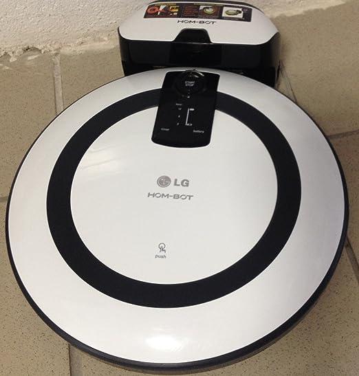 LG VR1013WS Aspirateur Robot avec 4 Fonctions BlancArgent
