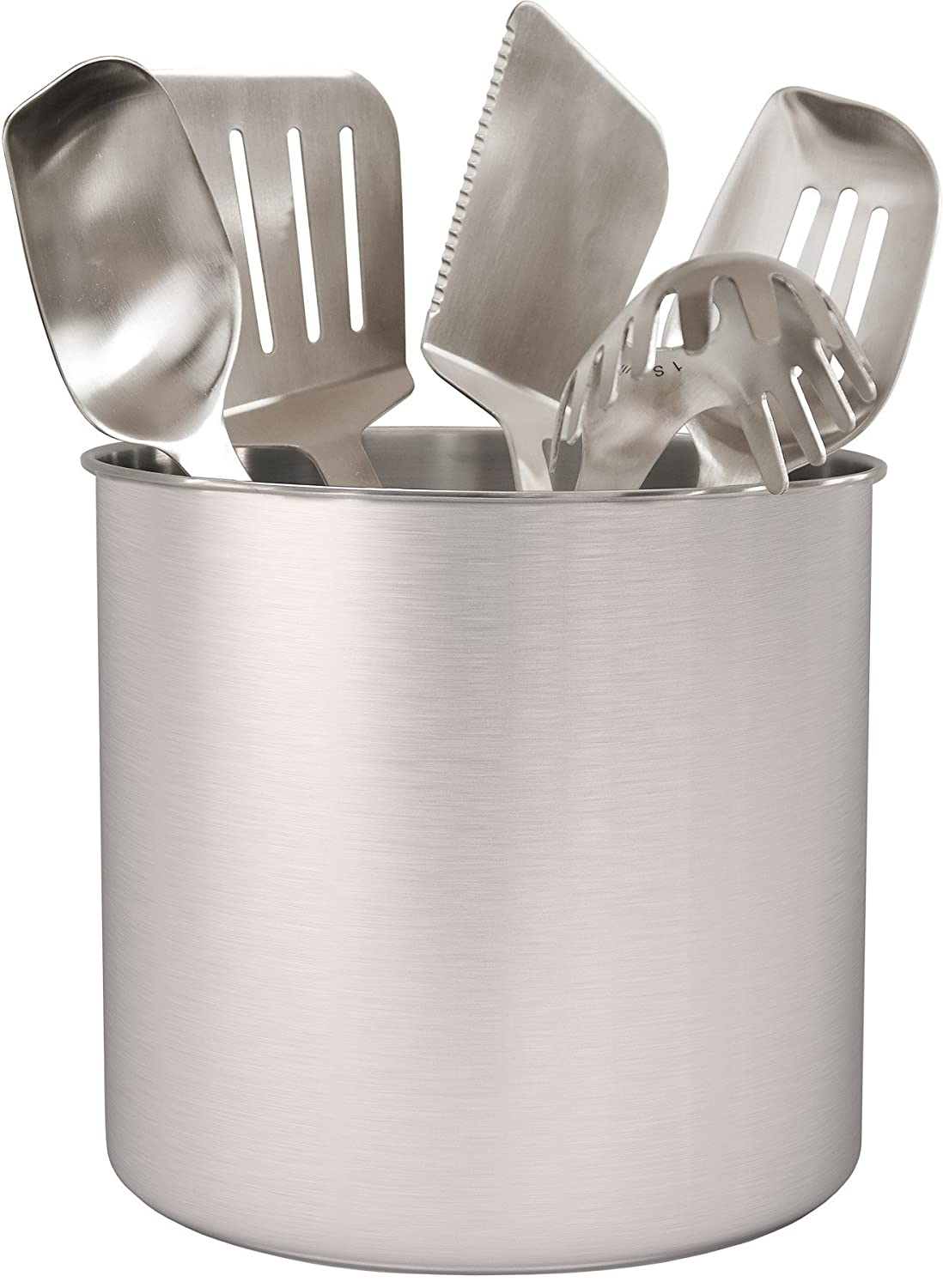 Estilo EST0286 Stainless steel Utensil Holder Jumbo, 7 x 7 7 x 7