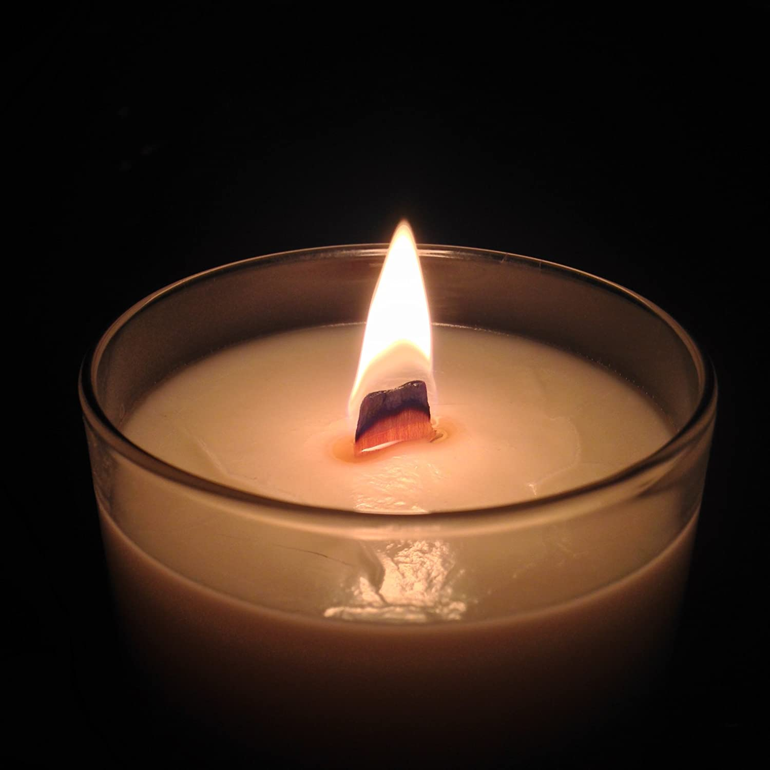Nag Champa Candle 10oz Natural Eco Hand Poured Soy Wooden Wick Crackle Candle Tennessee Wicks