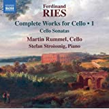 Ries: Complete Works for Cello, Vol. 1