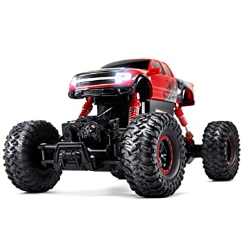 electric rc monster truck with full time 4 wheel drive system wild kids
