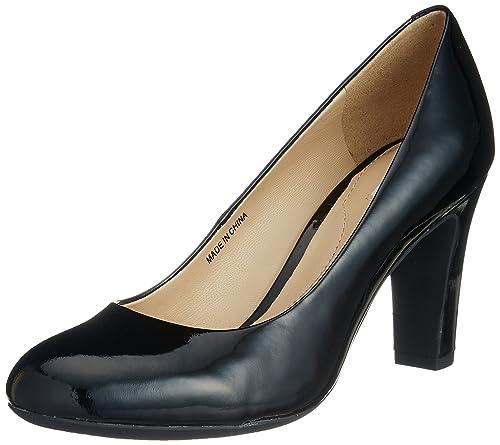 Geox D New Mariele High A Scarpe con Tacco Donna Nero Blackc9999 41 EU