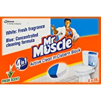 Mr Muscle In-Tank Block, 47g (Pack of 6)
