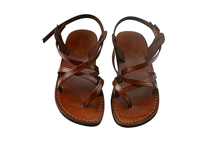 7d5337d0a017 Image Unavailable. Image not available for. Colour  VEGAN Triple Sandals  For Men   Women - Handmade Unisex ...