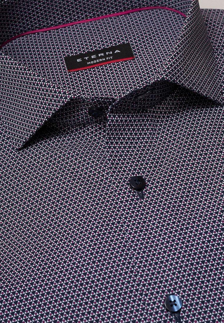 Eterna Langarm Hemd Modern Fit Popeline Popeline Popeline Bedruckt B077ZJZQZK Business Qualifizierte Herstellung 85820b