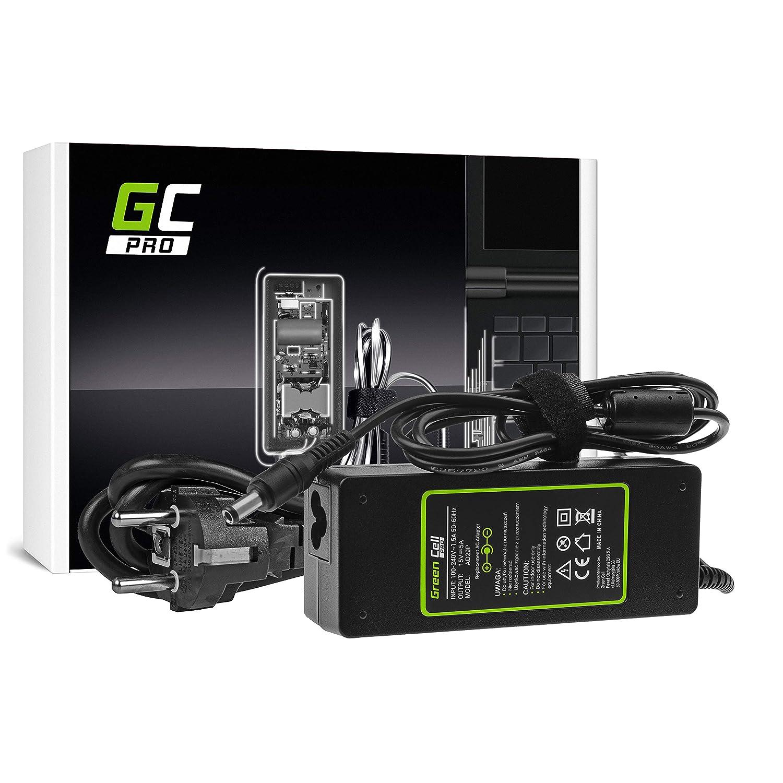 GC Pro Cargador para Portátil Toshiba Tecra A10 A11 M11 Satellite A100 P100 Pro S500 Ordenador Adaptador de Corriente (15V 5A 75W)