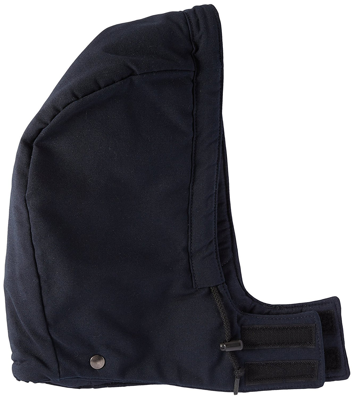Bulwark Flame Resistant 6 oz Nomex IIIA Regular Universal Fit Snap-On Insulated Hood Navy Medium [並行輸入品] B077QL96MC