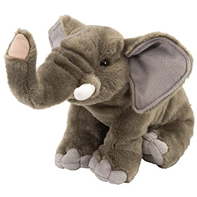 "Wild Republic Elephant Stuffed Animal, Plush Toy, Gifts for Kids, Cuddlekins 12"": Toys & Games"