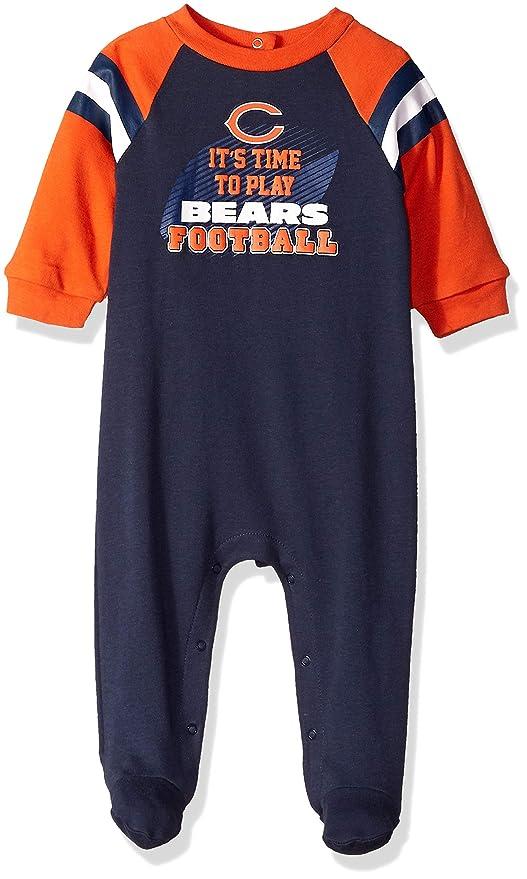 fa2a4a3bb Amazon.com   NFL Chicago Bears Unisex-Baby Sleep  N Play
