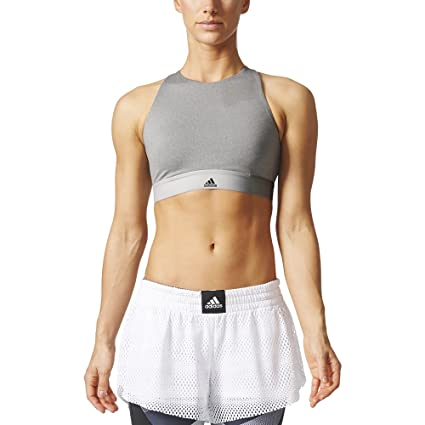 Mujer: adidas halter Bra: Sports & Outdoors