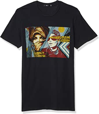 OBEY Men's Golden Future SS Superior TEE