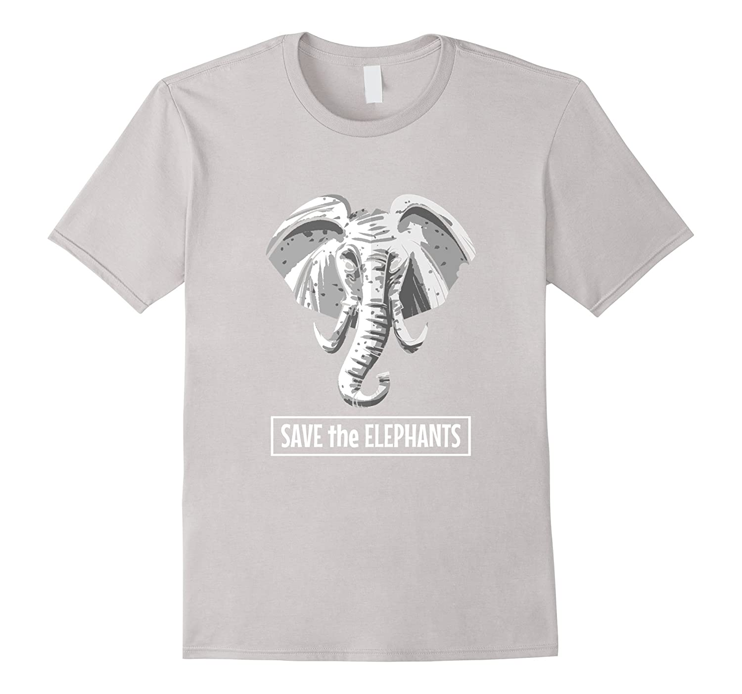 Save The Elephants Cute Elephant Wild Animal T-shirt-CD