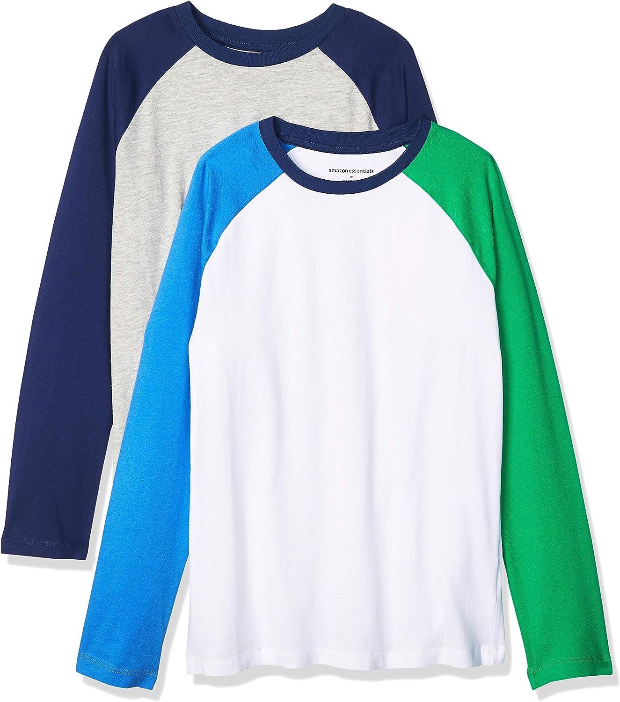 Essentials Boys 2-Pack Long-Sleeve Raglan T-Shirt
