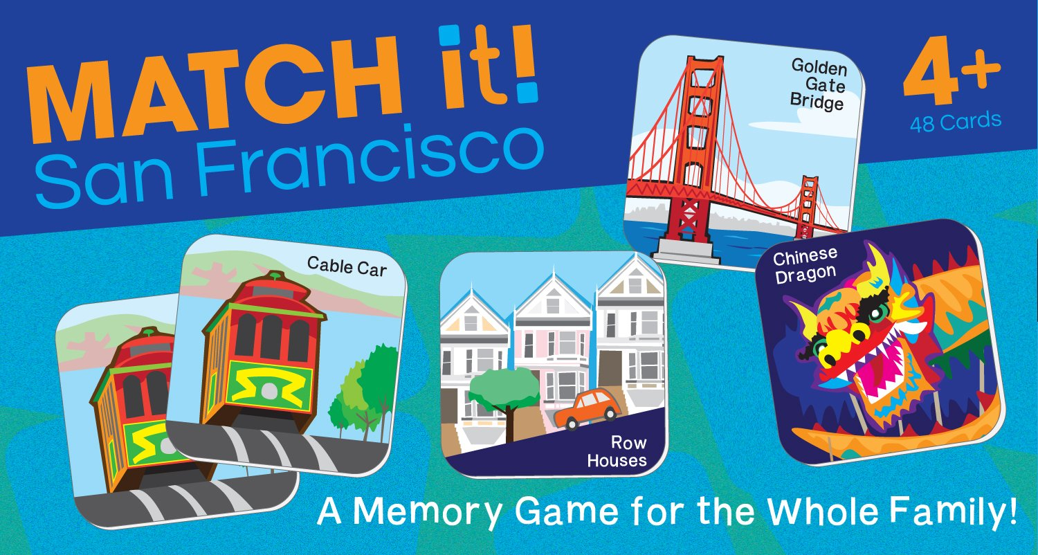 Match it! San Francisco by Duo Press (Image #1)