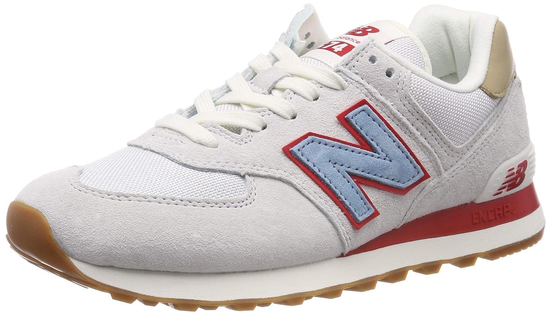 White (Nimbus Cloud Nimbus Cloud) New Balance Men's 574v2 Trainers