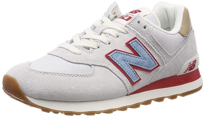 New Balance 574v2 Sneakers Herren Weiß/Rot/Blau