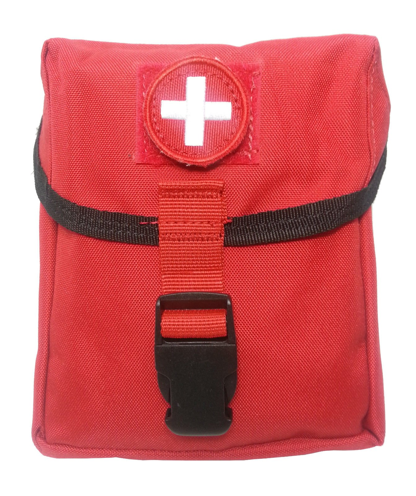 Surplus Provisions New Recruit First Aid Kit - Military IFAK Army Medic - RED - #FA15 by Surplus Provisions (Image #2)