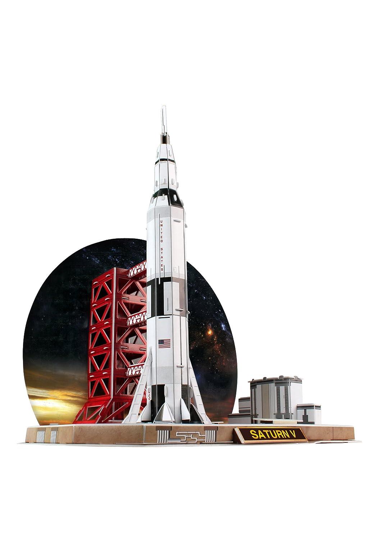 Daron Saturn V Rocket 3D Puzzle (68-Piece) Daron World wide Trading Inc. CFP653H