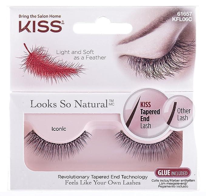 9348f10e7ed KISS Natural Lash, Iconic: Amazon.co.uk: Beauty