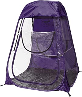 Under The Weather Sports Pod Pop-up Tent XL  sc 1 st  Amazon.com & Amazon.com: One Person Upright Shelter Chair Tent for Sporting ...