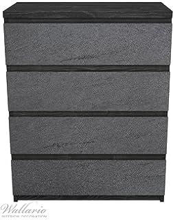 Kommode ikea braun  Amazon.de: Aufkleber Möbeltattoo für IKEA Malm Kommode 80x78cm ...