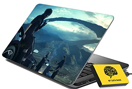 100yellow laptop skin final fantasy xv gaming designer laptop
