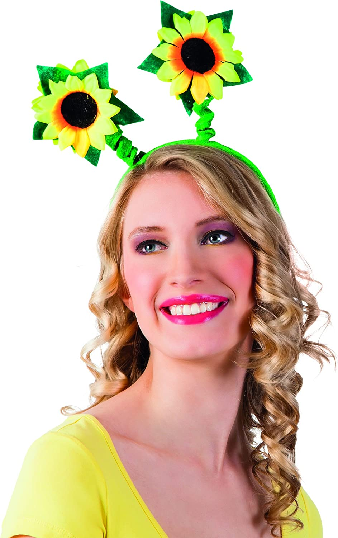 Diadema flor girasol adulto: Amazon.es: Juguetes y juegos