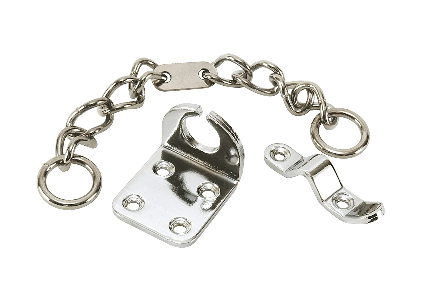 Secured by Design High Security Narrow Chrome Door Chain - Door Security Chain UAP