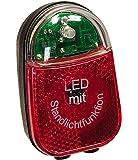 Büchel 50109210 Éclairage arrière pour vélo à LED Beetle (Noir)