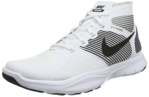 competitive price d894c 28b83 Nike Free Train Instinct Shoe ‑ Men s White Black 833274-100 Size 12   Amazon.ca  Shoes   Handbags