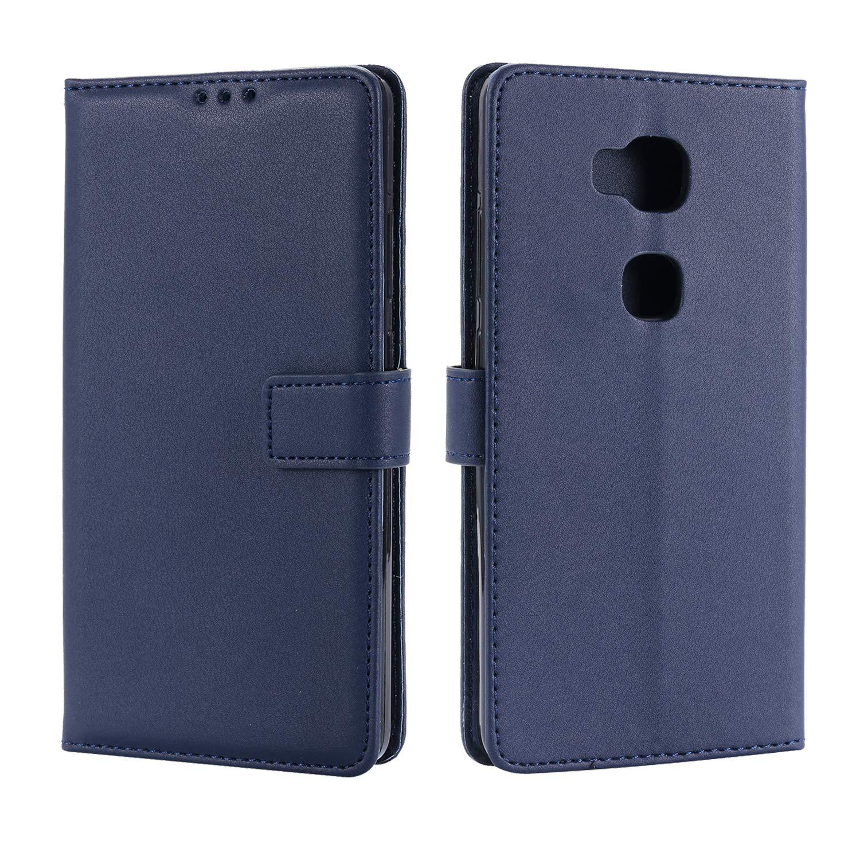 St/änder Flip Case Cover Schutzh/üllen aus Klapph/ülle mit Kreditkartenhaltern Kompatibel Huawei Honor 5X H/ülle Handyh/ülle Kompatibel f/ür Huawei Honor 5X Tasche Magnetverschluss