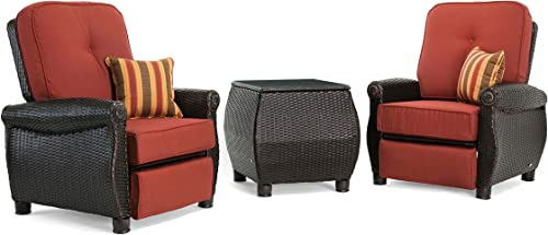 La-Z-Boy Outdoor ABRE-3PC-RC-R Patio Recliner Set