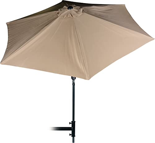 Camco Large Tilting Outdoor Patio Umbrella 9'