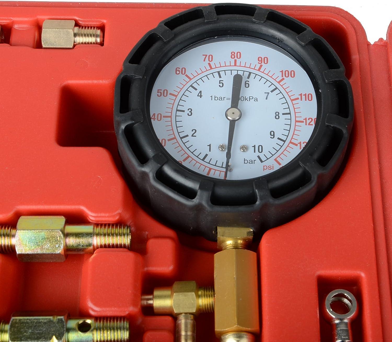 DA YUAN Fuel Pressure Meter Tester Oil Combustion Spraying Injection Gauge Car