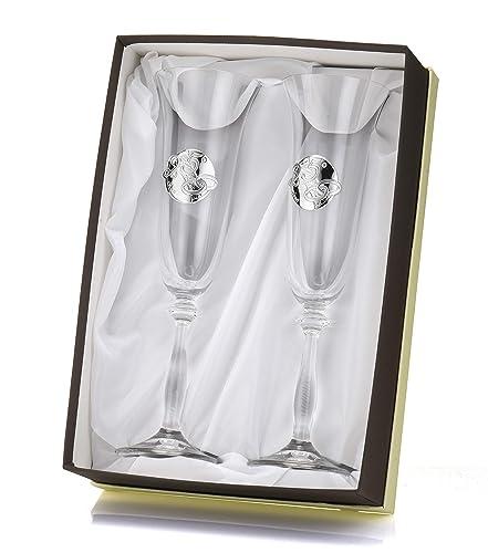 Bicchieri Per Regalo Di Nozze O Anniversario Di Matrimonio