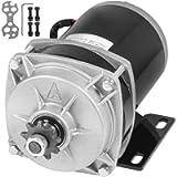 Mophorn 500W 24V Brushed Electric Motor 11T Sprocket 450RPM Gear Reduction Electric Motor for GO-KART