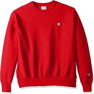 4503ccdbe43c Amazon.com  Champion Men s Pullover Eco Fleece Sweatshirt  Clothing